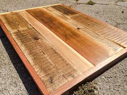 decor reclaimed wood table tops for chic furniture decoration ideas