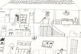 House Drawings by Art For Small Hands Drawing Inside A Dwelling
