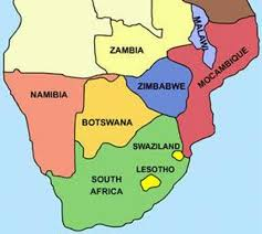 map with names of countries in africa list of southern countries how africa news