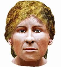 viking anglo saxon hairstyles facial reconstruction shows what mrs getty a high status young