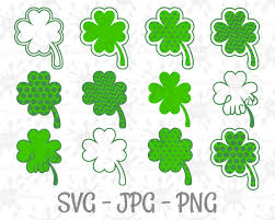 4 leaf clover clipart st patrick u0027s day lucky 4 leaf clover luck