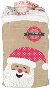 personalized santa sack merry santa personalized santa sack shutterfly