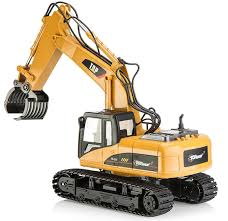 buy top race 15 channel remote control rc fork excavator