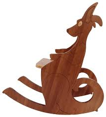 Toddler Rocking Chairs Kangaroo Rocking Chair Small Modern Kids Chairs By True To