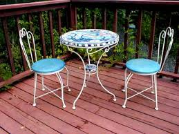 outdoor mosaic bistro table nautical mosaic bistro set want outside pinterest bistro set