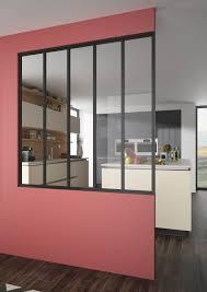 cuisine atelier d artiste cuisine verrière atelier frais verri re intérieure ou séparation