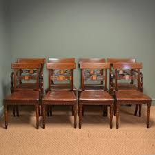 Antique Regency Dining Chairs Anglo Regency Dining Chairs The Uk U0027s Premier Antiques Portal