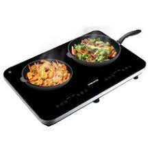 Portable Induction Cooktop Walmart True Induction Md 2b Mini Duo Double Burner Induction Cooktop