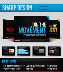 sharp design keynote template by mikestraser graphicriver