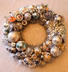 my vintage christmas ornament wreaths for 2016