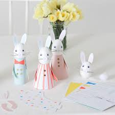 meri meri rabbit meri meri egg decorating kit