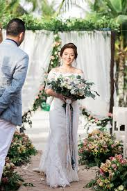 wedding dress raisa outdoor cebu wedding with blues philippines wedding
