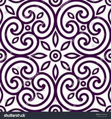 decorative geometric seamless ornament tile fabric stock vector