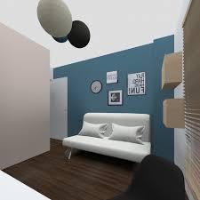 peinture de chambre ado associer gris et framboise chambre ado gris et bleu peinture