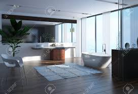 salle de bain de bateau salle de bain contemporaine avec baignoire en forme de bateau