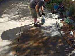 Sealing A Flagstone Patio by Concrete Stain And Sealer Patio Makeover Cheng Concrete Exchange