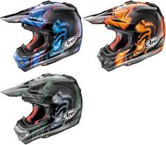 arai helmets motocross 526 33 arai vx pro4 vxpro4 justin barcia replica helmet 232398