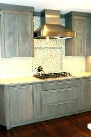 light gray stained kitchen cabinets gray stained maple kitchen cabinets ideas stain best of grey and