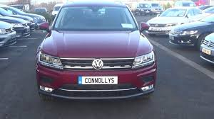 volkswagen tiguan 2016 red 2017 vw tiguan 2 0tdi highline 150bhp innovation pack finished in