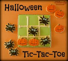 halloween tic tac toe cookies melissa joy cookies