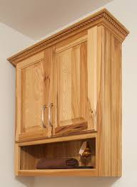 wooden bathroom wall cabinets including above the toilet cabinet
