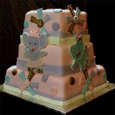 dancing animals cake