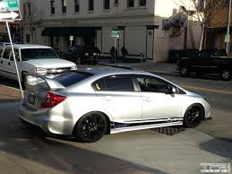 honda civic hatchback modified pictures modified honda civic si fg2 fa5 mugen photos