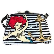 nautical bag your wdw store disney loungefly tote bag nautical ariel the