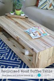 Build A Wood Coffee Table by Reclaimed Wood Coffee Table My Love 2 Create