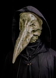 white plague doctor mask reaper white ministry of masks