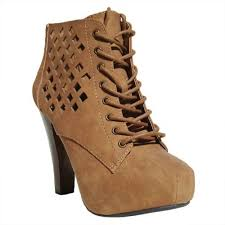 s qupid boots qupid s puffin 62 boots with heel camel pu 7 5 700736985717