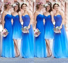 romantic summer blue bridesmaid dresses cherry marry