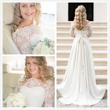 discount a line wedding dress actual picture 2017 lace bohemian