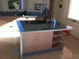 plan de travail cuisine en verre cuisine plan de travail central cuisine en image
