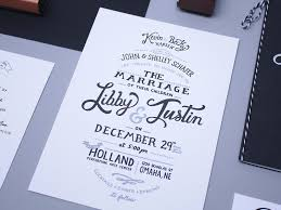 wedding invites by justin schafer dribbble