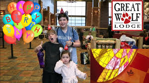 great wolf lodge epic birthday party growing humans family