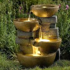 water fountains for office water fountain outdoor garden three