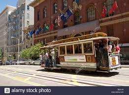 Cable Car Map San Francisco San Francisco Cable Car Stock Photos U0026 San Francisco Cable Car