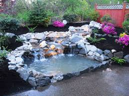 backyard ponds and streams home outdoor decoration