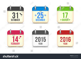 every day is halloween year 2017 calendar main holiday symbols stock vector 370585163