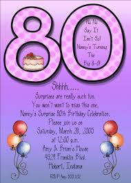 funny 80th birthday invitations invitation ideas