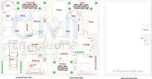 Bilbo Baggins House Floor Plan by 4 Marla House Plan In Pakistan Design Sweeden