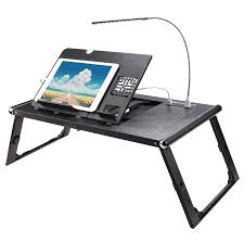 bed tray table walmart ancheer laptop pad folding desk table stand bed tray with power bank
