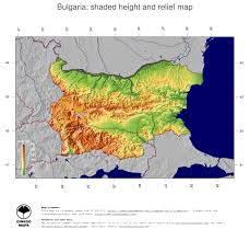 Map Projection Map Bulgaria Ginkgomaps Continent Europe Region Bulgaria