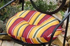 Outdoor Bistro Chair Pads Round Bistro Chair Cushions Tachenda Indoor Round Bistro Seat