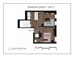 back bay boston furnished apartment rental 304 newbury street unit 2