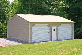 building a 2 car garage garages leonard buildings truck accessories