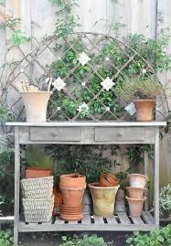 Garden Potting Bench Cool Diy Garden Potting Table Ideas