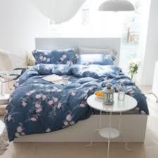 online get cheap blue bed linen aliexpress com alibaba group