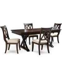 baker dining room chairs deal alert baker street dining furniture 5 pc set dining trestle